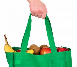 one way to reduce plastic use starts with reusable grocery bags